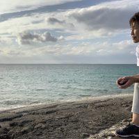 ここから始まる!沖縄の風を受けて・・・