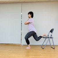 No.31 片足バランススクワット〜転ばぬ先の杖〜